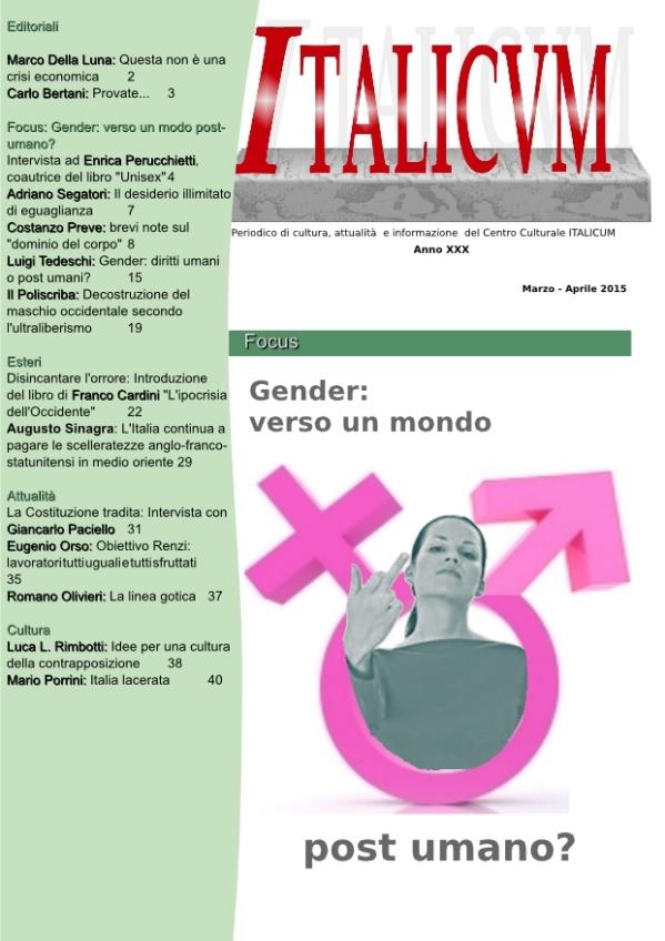 Italicum marzo-aprile 2015